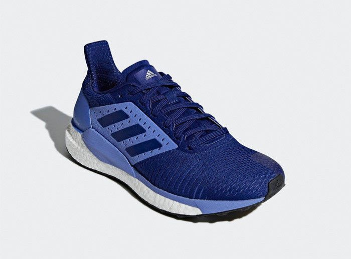 8a76ebcb9 adidas SOLAR GLIDE ST Women s Running Shoes Blue Fitness Gym Walking NWT  BB6614  adidas  RunningShoes
