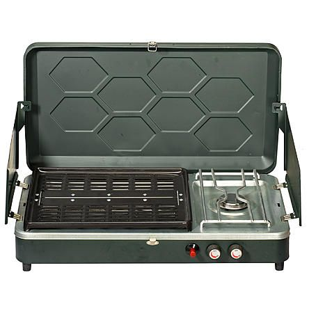 Northwest Territory Combo Propane Stove Amp Grill Camping