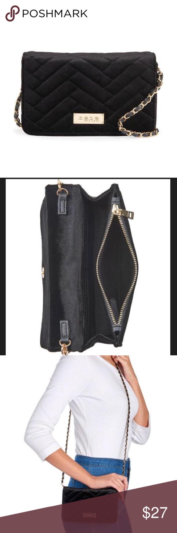 23b49a2d35 Brand New Black Bebe Crossbody Chain Purse Brand new black Bebe chain strap crossbody  purse. bebe Bags Crossbody Bags