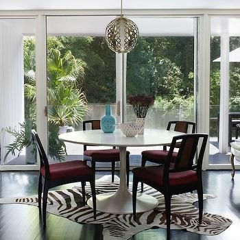 Eclectic Dining Room Awesome Saarinen Table Eclectic Dining Room Angie Hranowski  Dinning Decorating Design