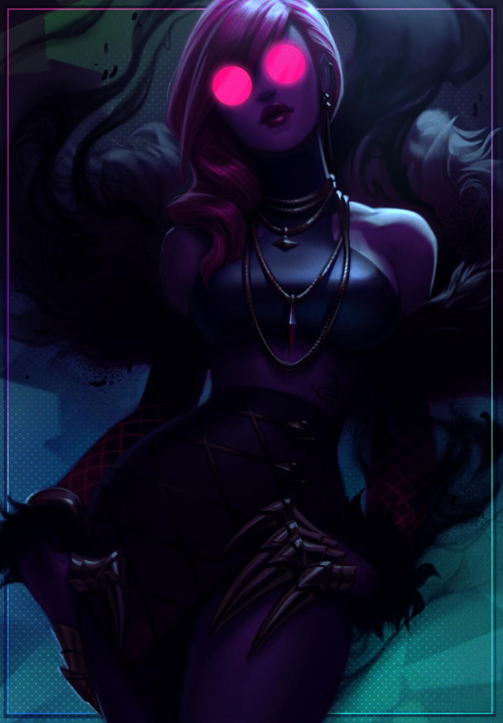 Kda Evelynn By Jessibeans On Deviantart Lol League Of Legends League Of Legends League Of Legends Characters
