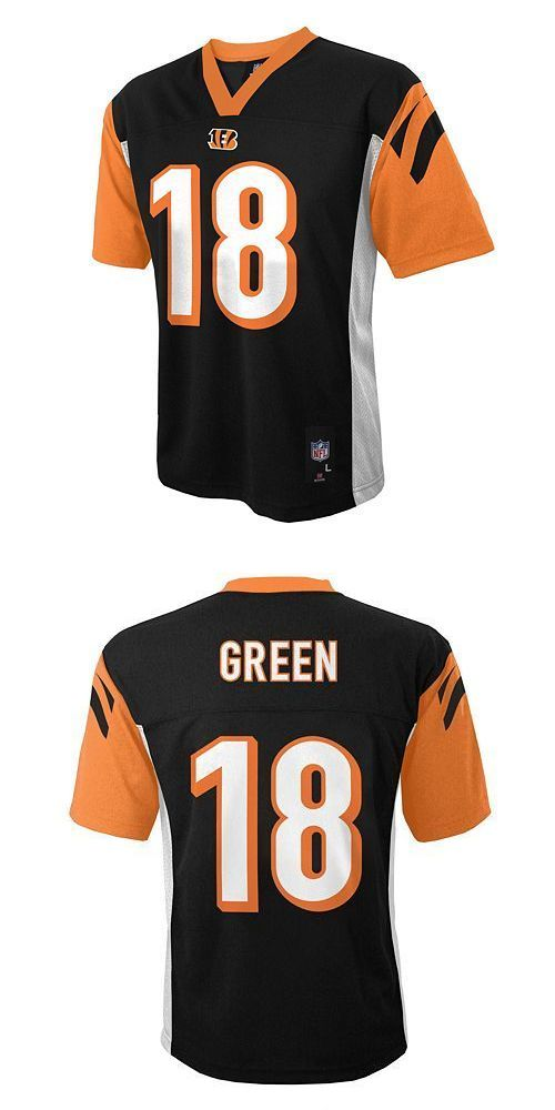 aj green youth jersey