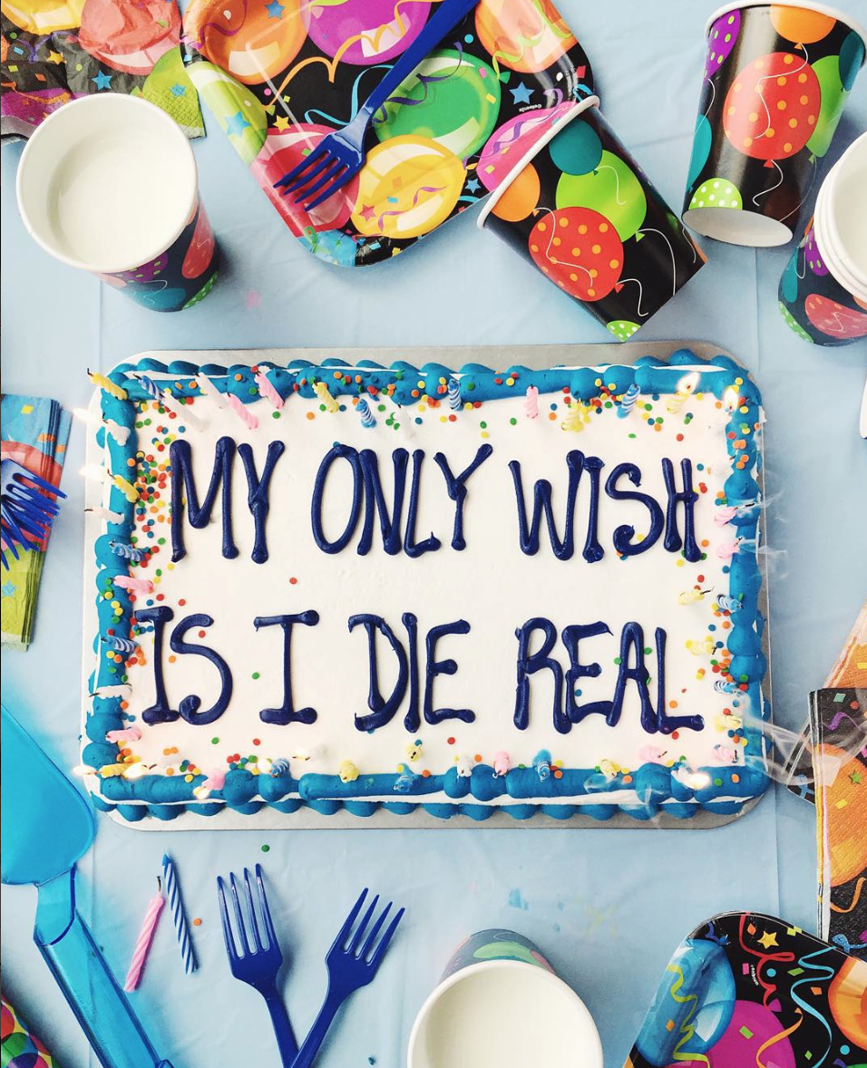 Strange Drake On Cake Is About To Become Your New Favorite Instagram Personalised Birthday Cards Veneteletsinfo