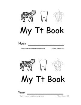 Letter Tt Emergent Reader Sight Words (I, see, the