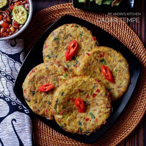 Dadar Tempe By Andinskitchen Kreasi Masakan Mudah Dan Praktis Resep Makanan Dan Minuman Resep Masakan Resep