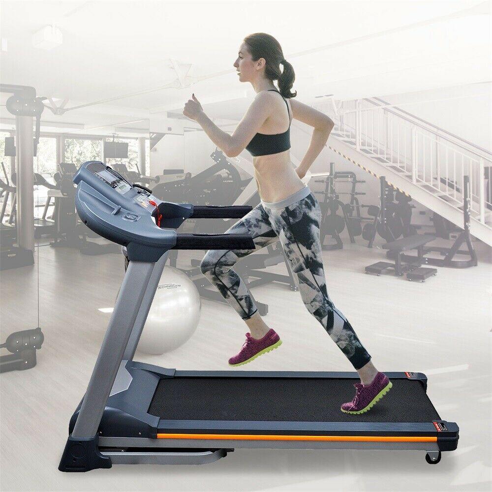Tapis De Course Marche Roulant Electrique Pliant 1 22km H Ecran Lcd F8u5 Tapis De Course Athletisme Fitness