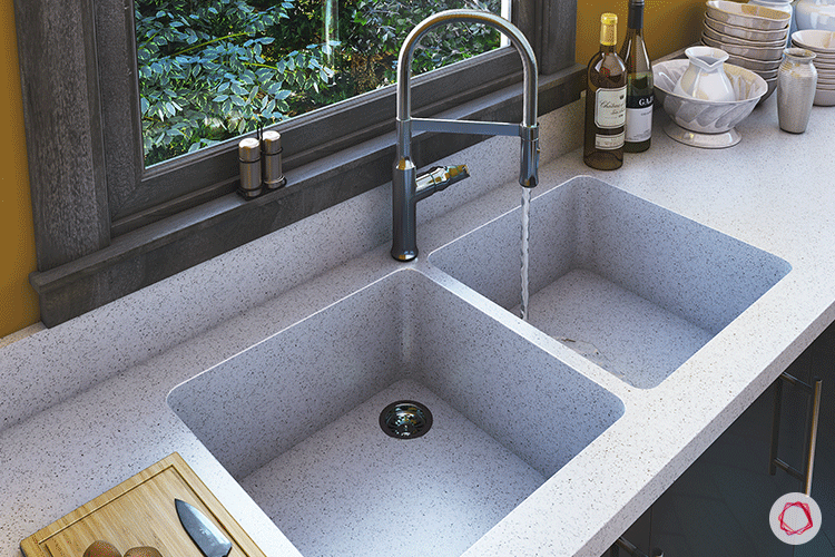 One Piece Kitchen Countertop And Sink Designs Sink Design Sink