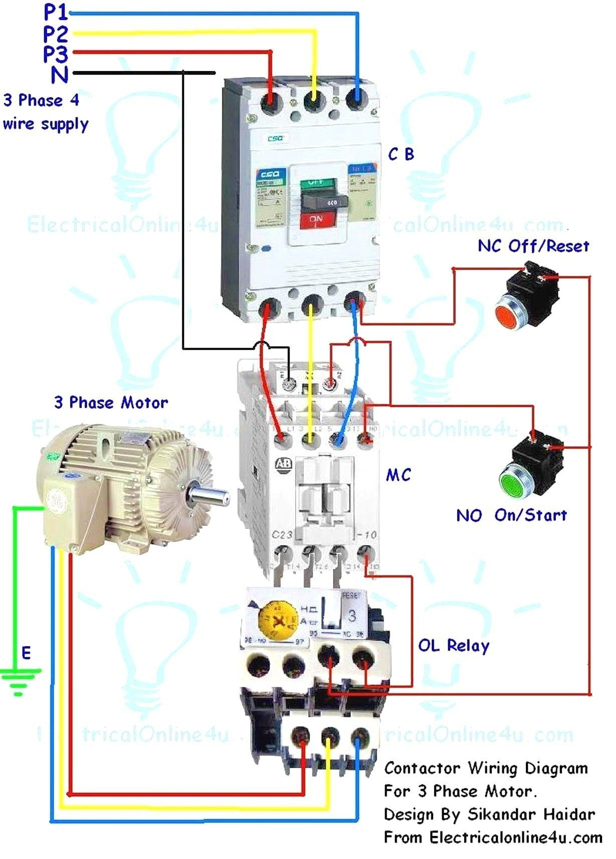 non grounding 3 phase contactor wiring wiring diagram work  3 phase starter wiring diagram for 120v #2