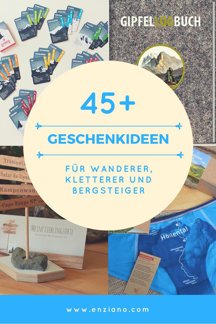 Mehr als 45 Geschenkideen für Wanderer, Kletterer, Bergsteiger und ...