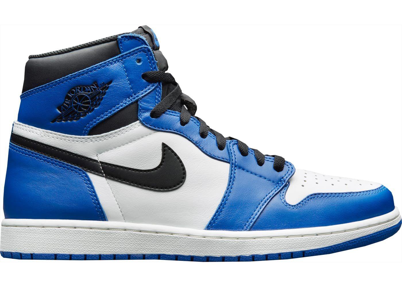 Jordan 1 Retro High Game Royal Air Jordans Sneakers Womens