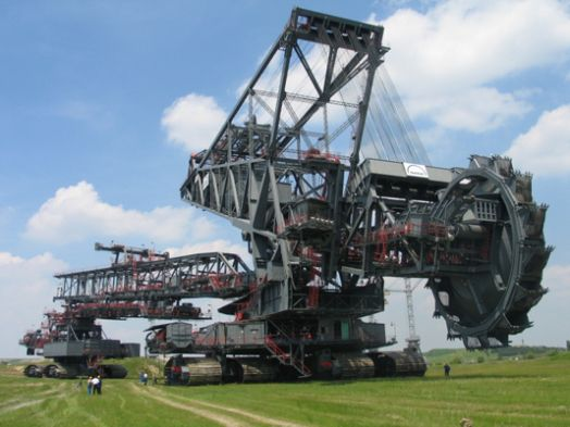 Worlds Largest Machines Ever Built Bagger Excavator Armored Truck