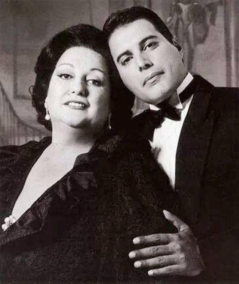 Freddie and Montserrat Caballe !