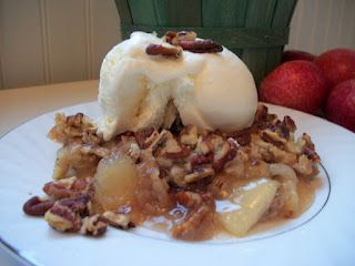 Apple Pecan Dump Cake Recipe in Chic and Crafty, Dessert Recipes, Fall, Guest Posts, Recipes