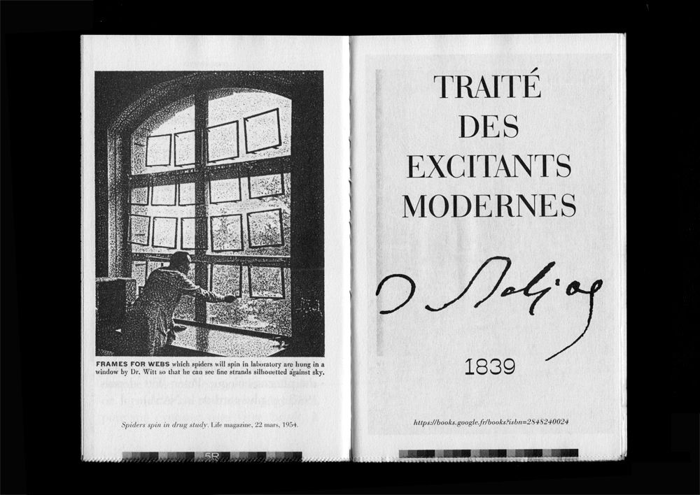 """Pierre Vanni — """"Traité des excitants modernes"""", published by La ..."""