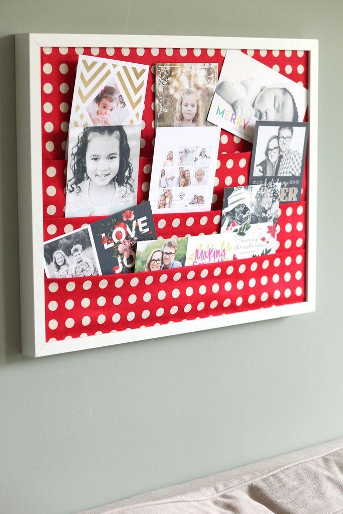 Vistaprint Cards & A Christmas Card Holder | Christmas card holders ...