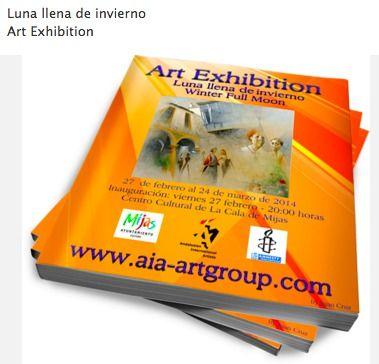 Luna llena de invierno Art Exhibition