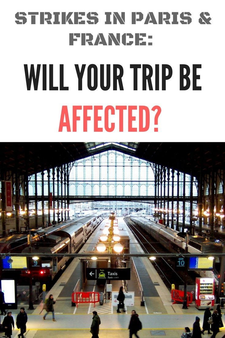 20192020 Strikes in France How Your Travel Plans May be