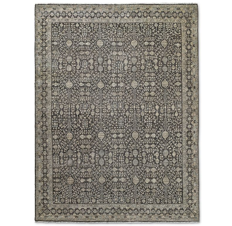 Opale Hand Knotted Wool Rug In 2020 Rugs Wool Rug Distressed Wool Rug