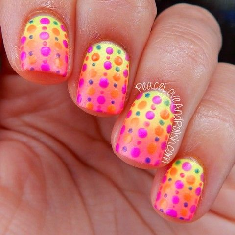Favorite Nail Art Of Summer 2014 Black Cat Nails Nails