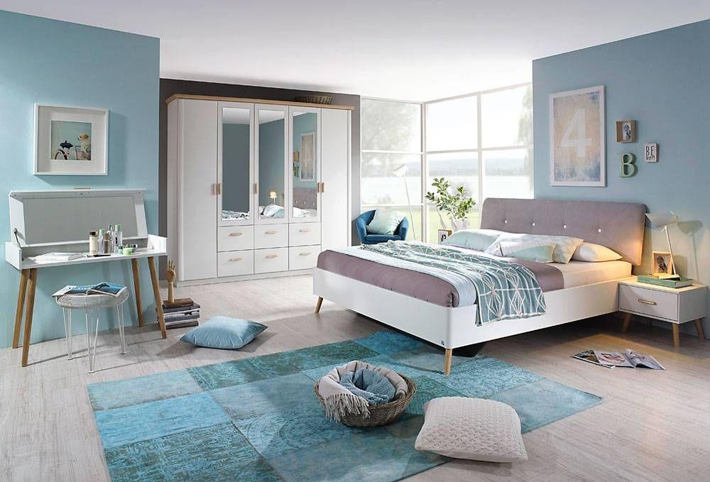 Schlafzimmer Komplett Set 4 Teilig Alpinweiss Esche Gunstig Online Kaufen Lifestyle4living Hausmobel Haus Haus Deko