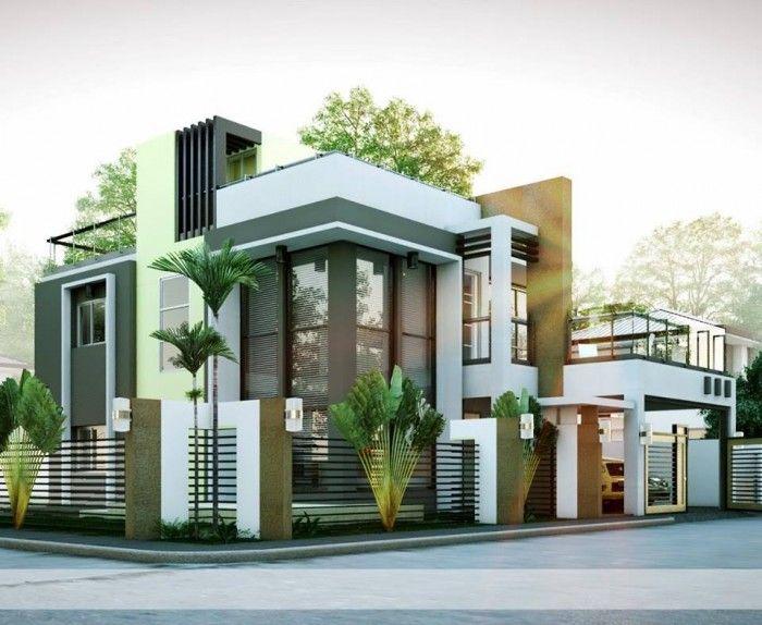 Mind Blowing Modern Residence Exterior Design Idea Duplex House Design Modern Bungalow House Design Modern Bungalow House