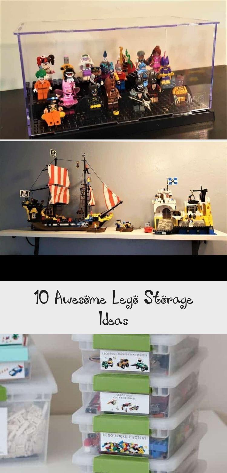10 Awesome Lego Storage Ideas - Decor Dıy - #legostorage - 10 Awesome Lego Storage Ideas - Decor Dıy... #legostorage