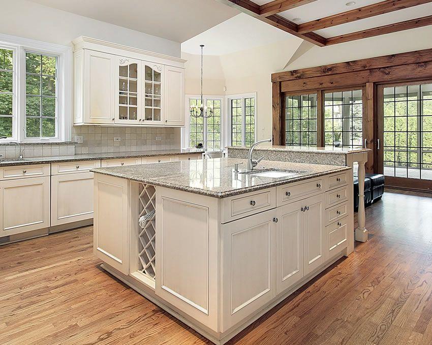 81 Custom Kitchen Island Ideas (Beautiful Designs) | White cabinet ...