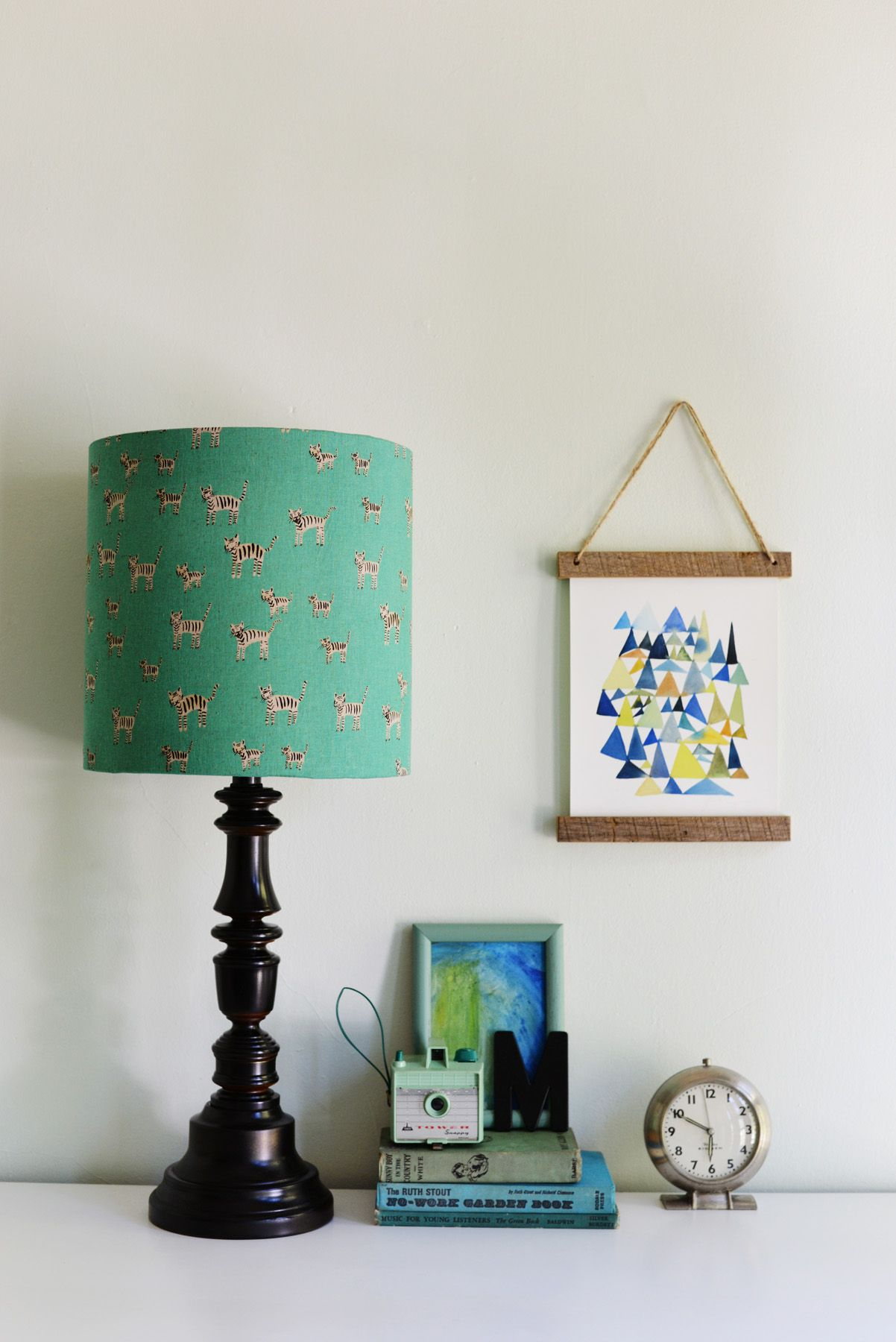 Learn How To Make A Diy Lampshade For A Nursery Like This