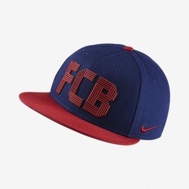 Nike FC Barcelona Adjustable SQUAD Snapback Cap  401db75f792d