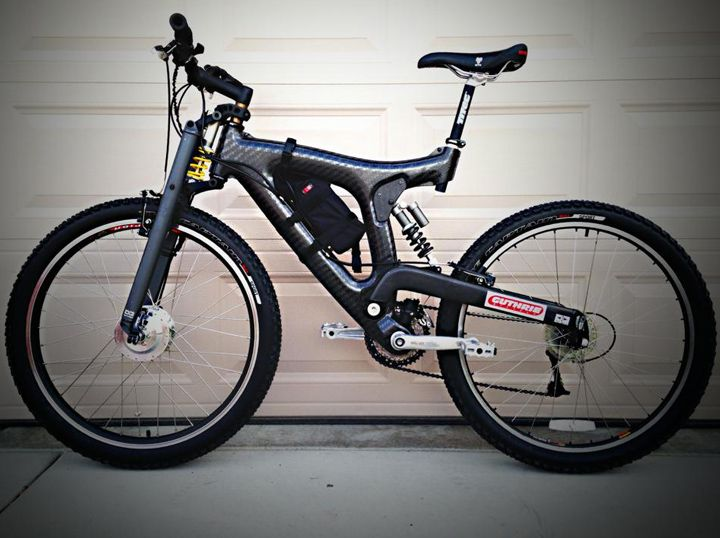 Electric Bike Conversion Kit On Mountain Bike