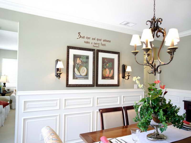 Wall Decorations For A Dining Room : Dining room wall decor ideas design