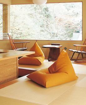 ビーズクッション 座 気まま 家具のアイデア 模様替え 座椅子