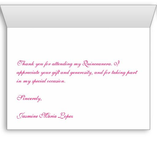 Quinceanera Custom Thank You Cards Mya S Quinceanera Ideas
