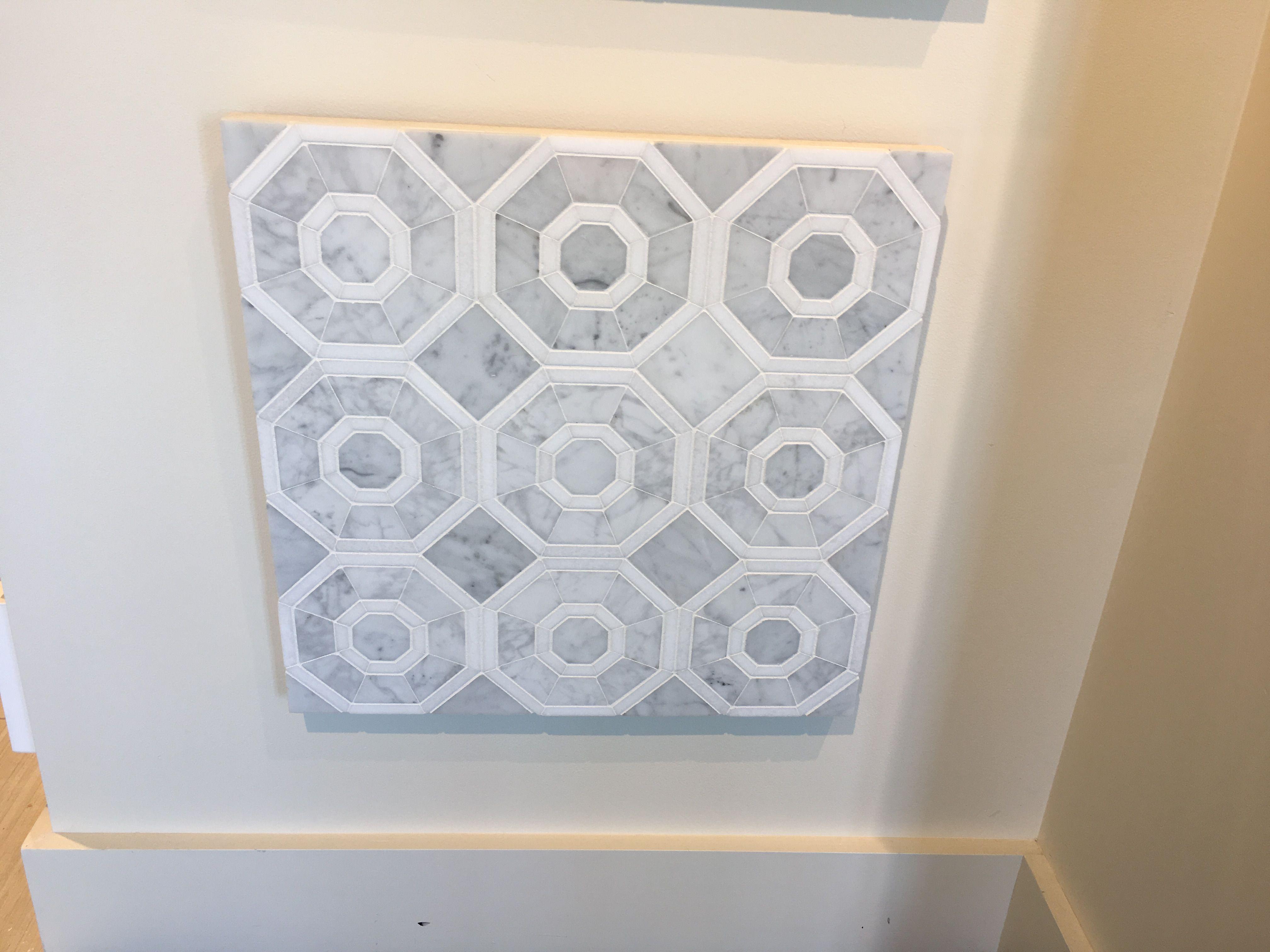 White Carrara Venatino (Premium) Marble By OFI. Tile Showcase
