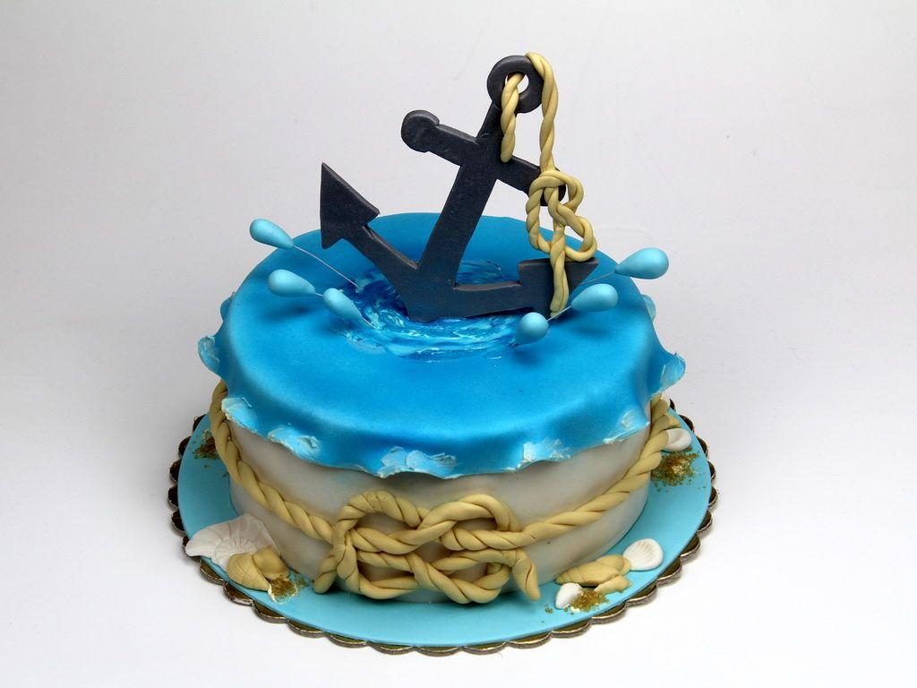 фото тортов для моряка