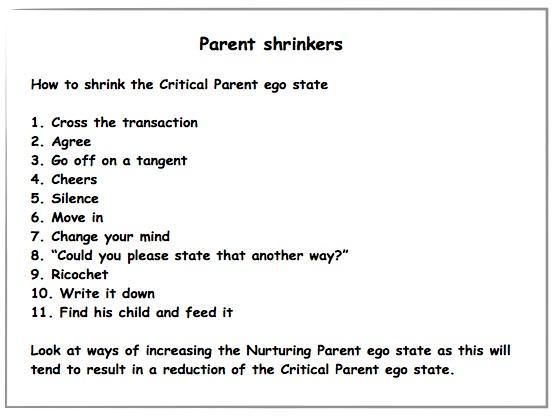 child ego state example