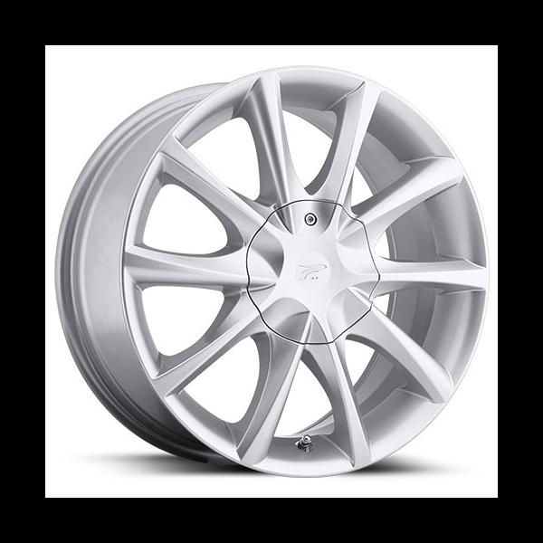 Platinum 081 E Twine Silver Rims For Cars Silver Bolt Pattern