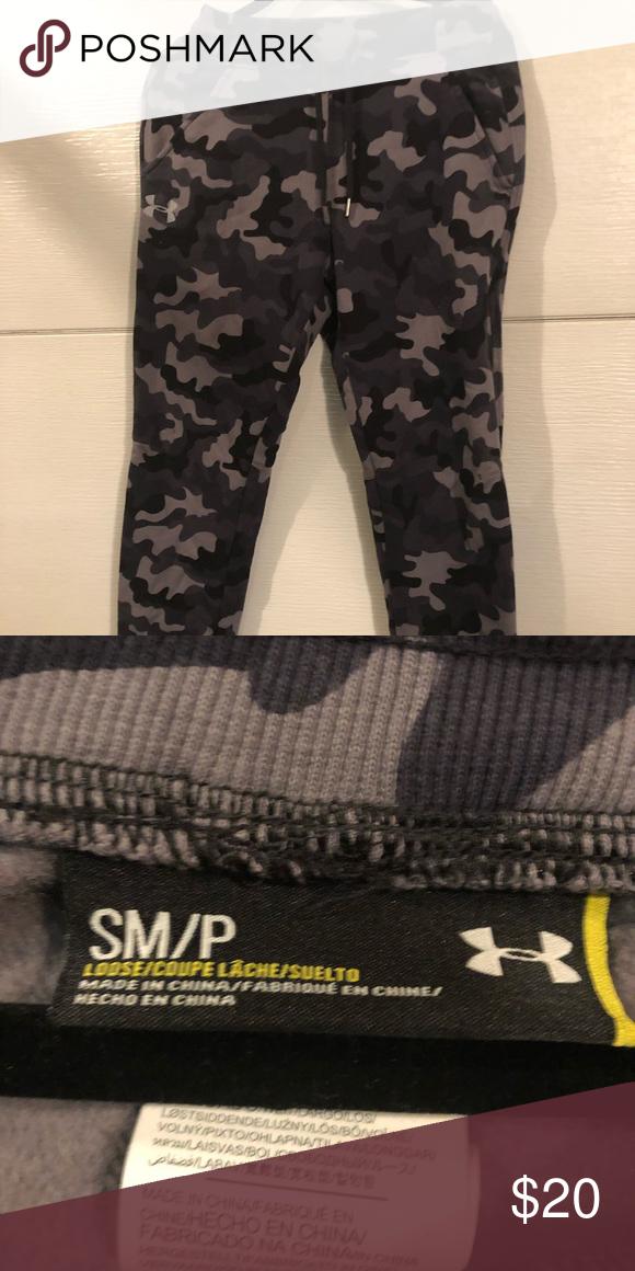 renomowana strona San Francisco sprzedawca hurtowy Under Armour Camo Sweats Nice condition Under Armour Pants ...