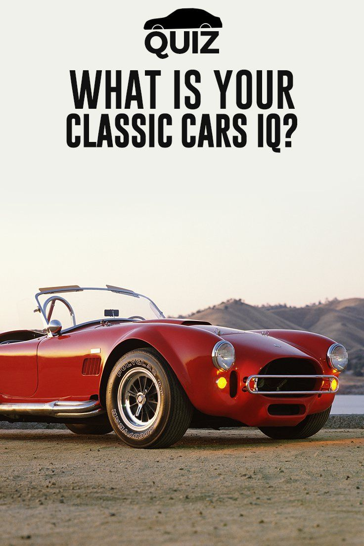 How well do you know American classic cars? Put your knowledge to ...