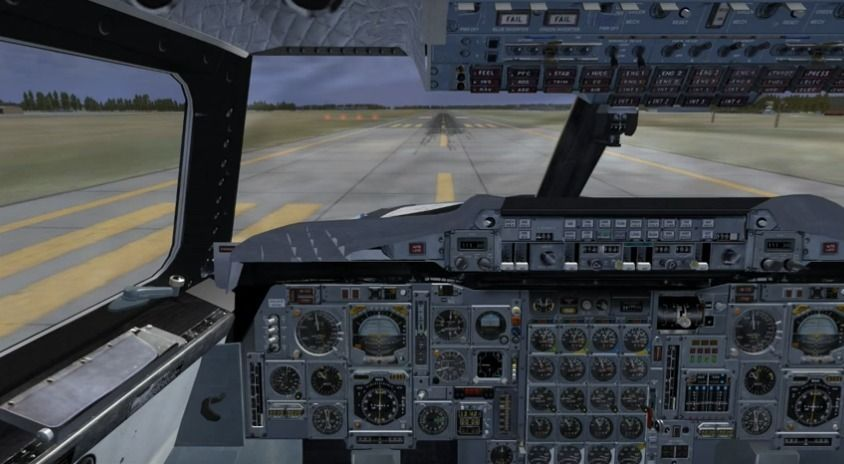 The accuracy of this virtual Concorde is unmatched in FS2004