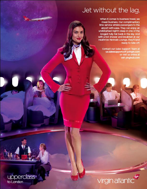 Ad Design for my peoples at Virgin Atlantic | My Portfolio in 2019