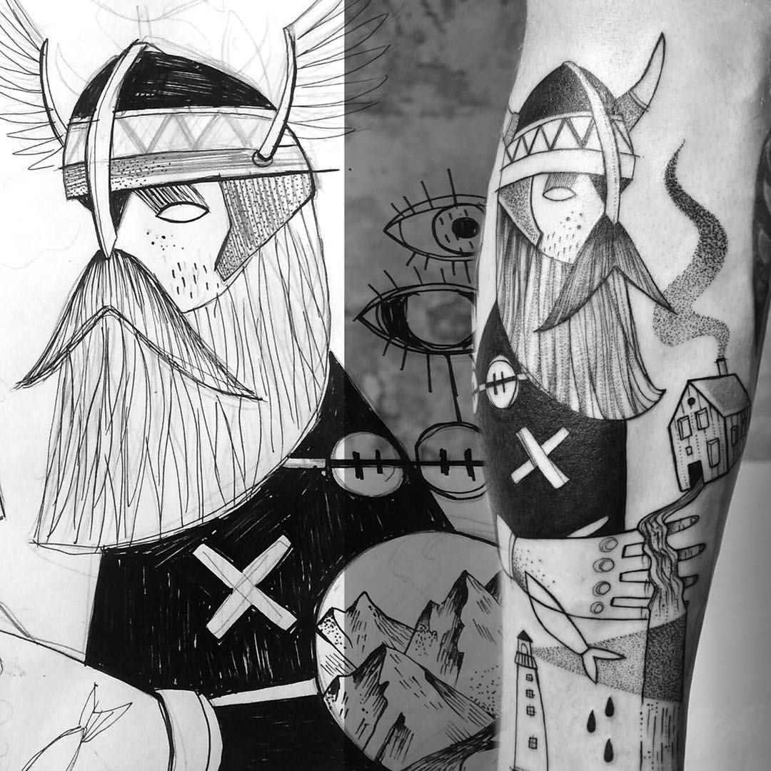 miriamfrank tattoo ink iceland viking It's all about