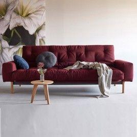 sofá cama azul oscuro Zeal. Sofá cama moderno de ...