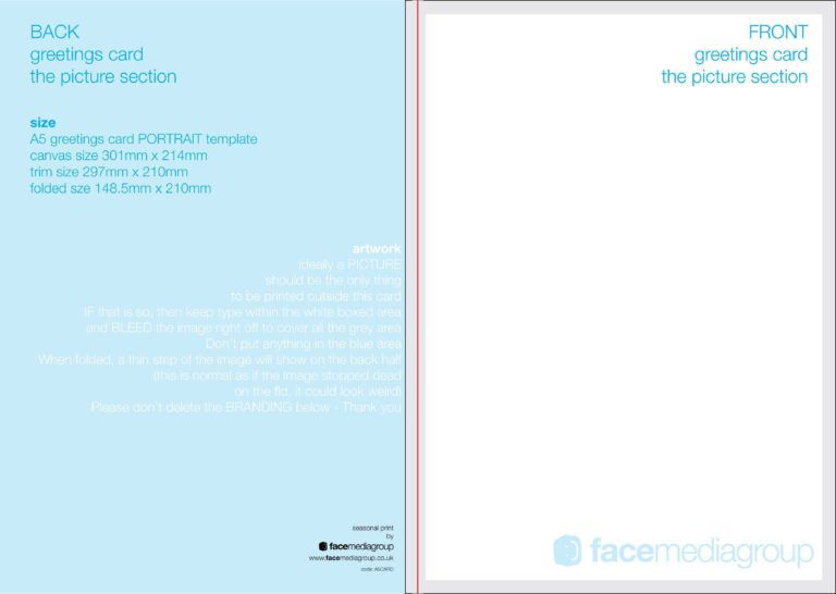 49 report free blank greeting card template for word maker
