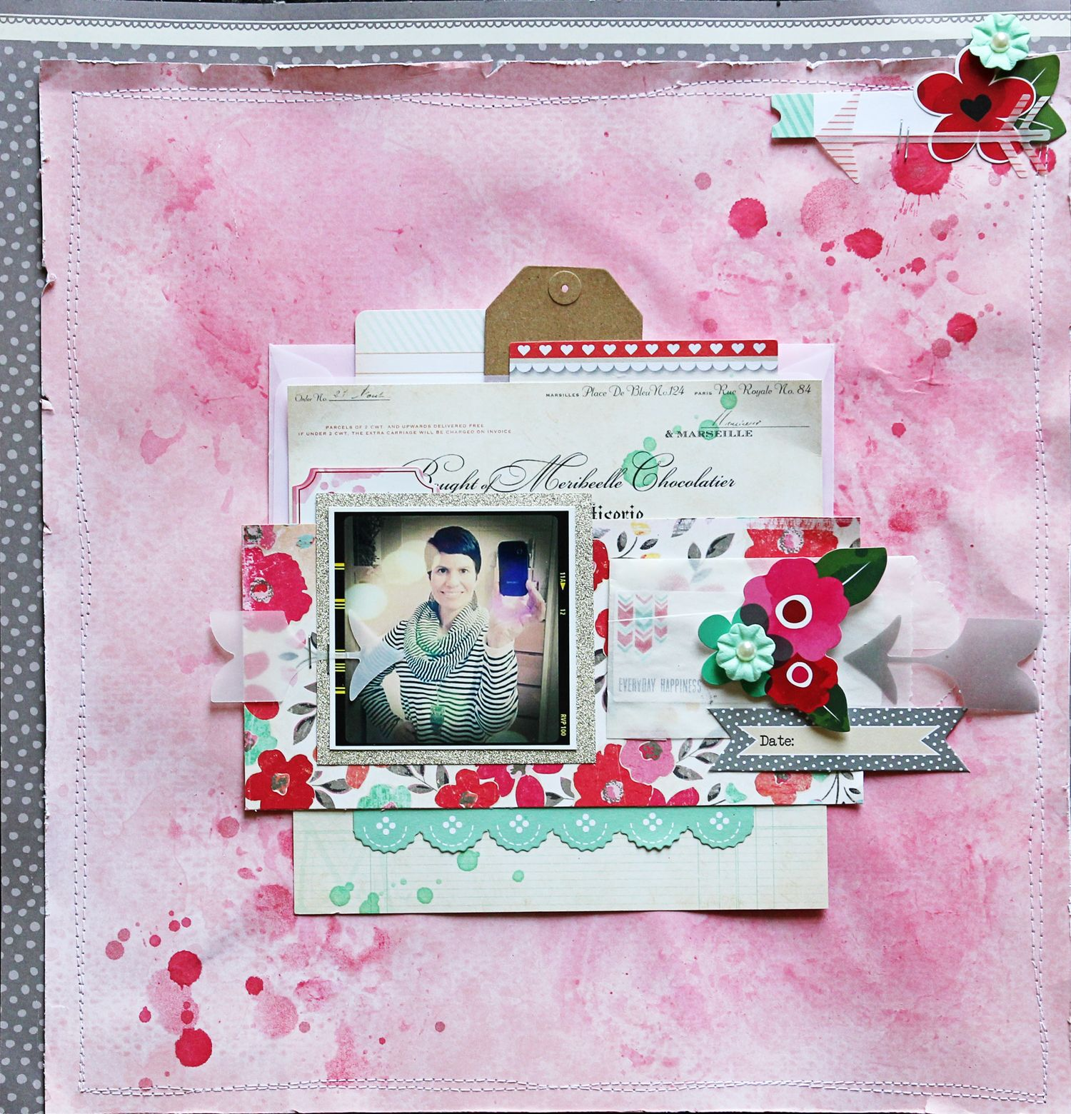 ** Chic Tags- delightful paper tag **: Here is our amazing guest designer for April