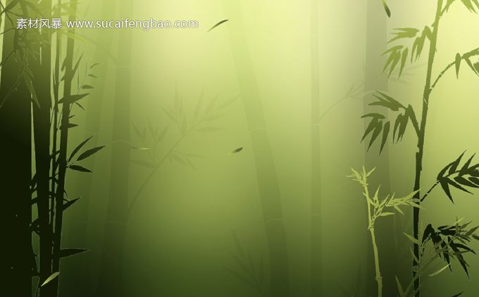 Bamboo Forest Classical Chinese Style Ppt Ppt Ppt Templates Ppt