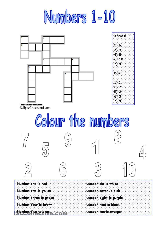 numbers 110 numbers Pinterest Worksheets, Printable