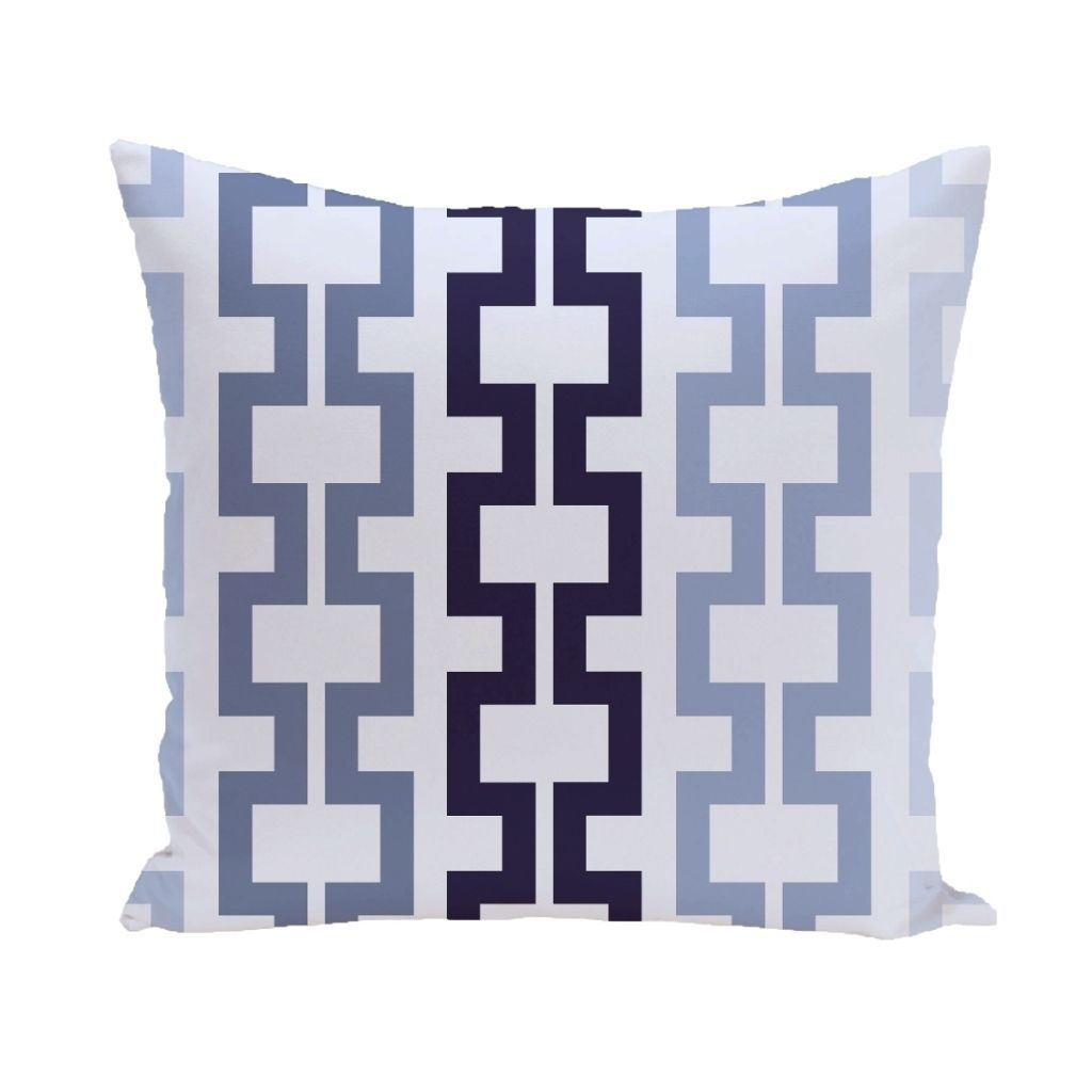 E by Design Geometric Tribal 20-inch Decorative Pillow