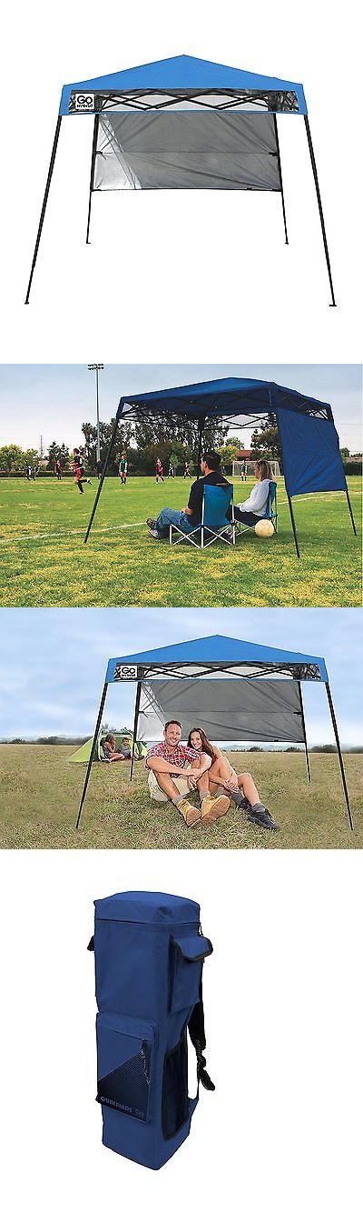 Canopies and Shelters 179011 Backpack Canopy Blue 6X6 Tent Gazebo Shelter Portable Cover Top Shade  sc 1 st  Pinterest & Canopies and Shelters 179011: Backpack Canopy Blue 6X6 Tent Gazebo ...