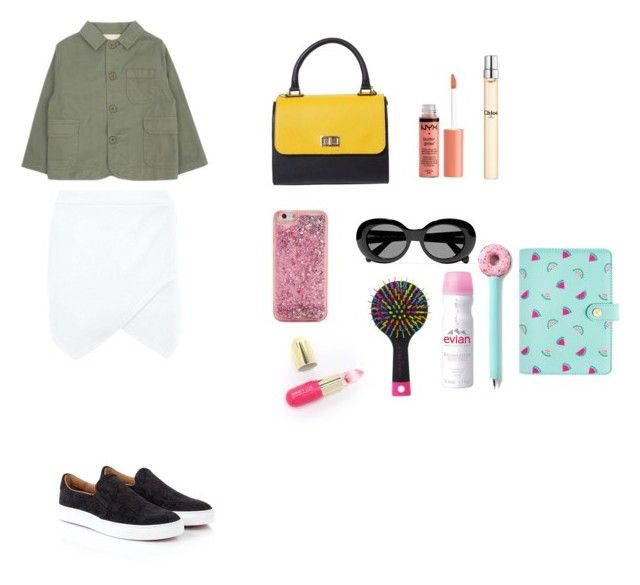 """li'l girl"" by stunnerjoy on Polyvore featuring Boohoo, Vivienne Westwood, ban.do, Acne Studios, Winky Lux, Charlotte Russe, Evian and Chloé"